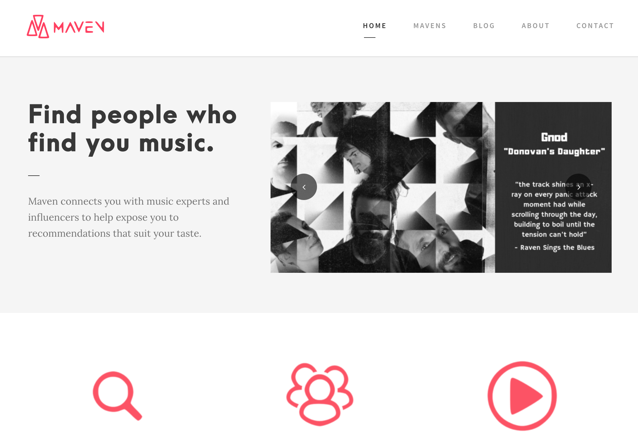 Maven Music is the Curated Platform Delivering You New